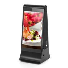 New Coffee Shop Bar Cell Phone Charger LCD Table Advertising Menu Power Bank 20000mAh Powerbank Restaurant Power Bank