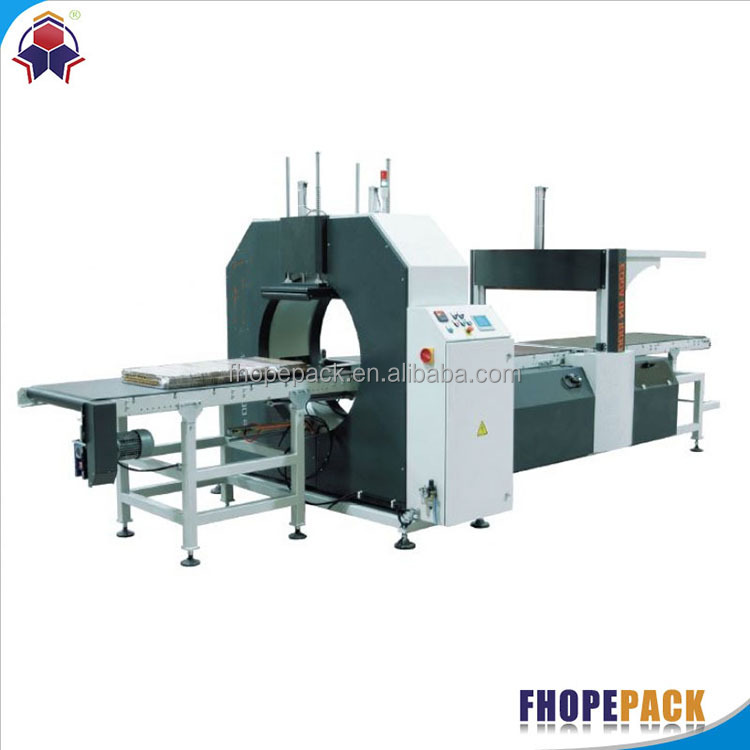 China factory price hot-sale eps panel horizontal wrapping machine