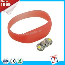 New color advertising eco-friendly silicone bracelet