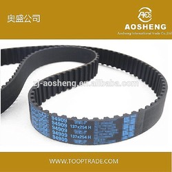 Hot selling Truly Endless PU Timing Belt with great price auto lock buckle belt