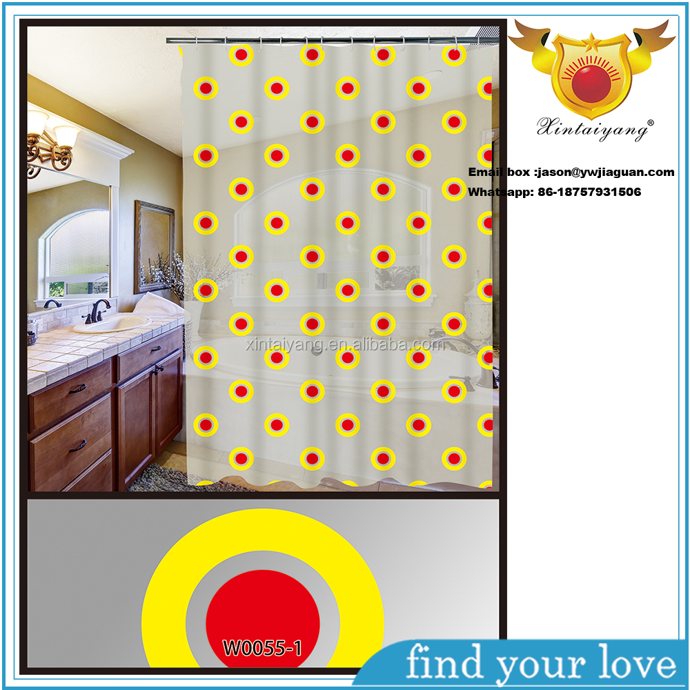 Cheap Disposable Eco-friendly Home Goods Shower Curtain