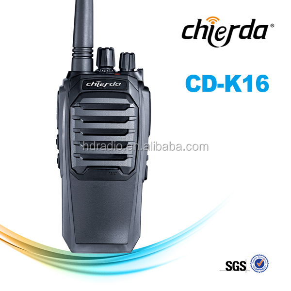 Long-distance radio communication with scan function for sport coach CD-K16