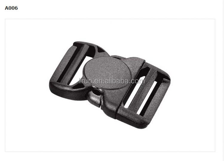 Hot sale 20mm promotional 2 inch plastic buckle