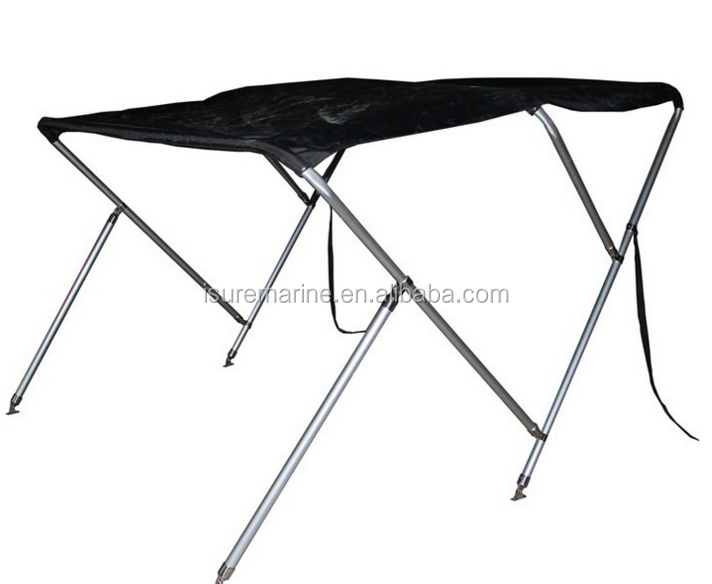 2 bow 3 bow 4 bow black Stainless steel bimini top for boat ship marine