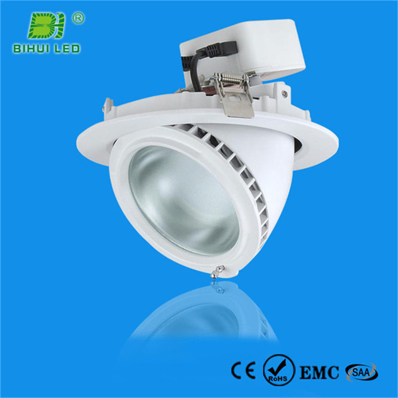 High quality CE RoHS ul and es listed 18w commercial retrofit led downlights