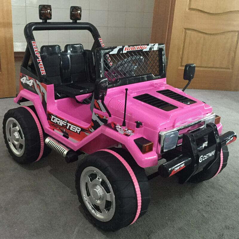 Girls electirc ride on car jeep children electric car toy for sale