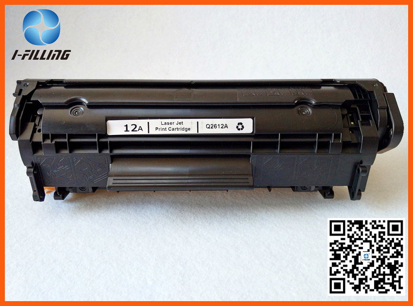 Compatible Replacement for HP Q2612A / 12A Black Laser Toner Cartridge for HP LaserJet Printer Series