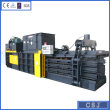 Auto-tie horizontal balers waste paper pressing machine scrap corrugated paper baler