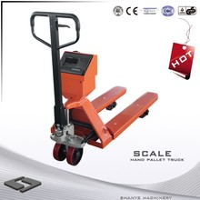 hand pallet truck with scale 2 ton dump truck