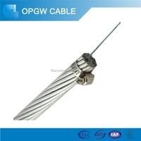 Fiber Optic Cable OPGW G655 96 Core Power Optical Cable-Optical Fiber Composite Ground Wire
