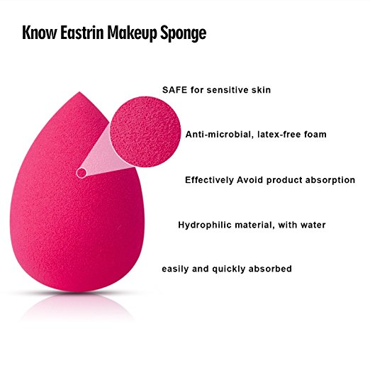 1PC Makeup Sponge High Quality Smooth Powder Beauty Cosmetic Puff Make up Blending Tools Grow Bigger in Water Water-Drop Shape