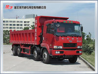 heavy duty Euro 4 diesel engine 35 ton 8x4 tipper