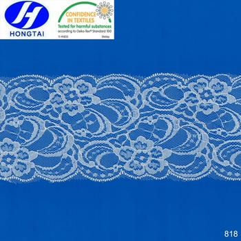 Hot wholesale rolls decorative cotton eyelet neck collar lace trim