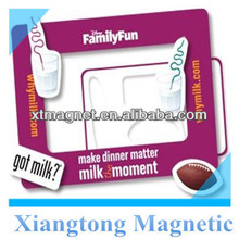 Family Fun Magnetic Refrigerator Photo Frame /Fridge Magnetic Photo Frame