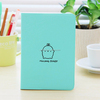 Factory low price wholesale promotion pu leather notebook a5, custom made notebook