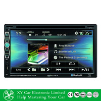 6.95 Inch GPS navigation 2 din car mp3/mp4 car radio TV DVD player with touch screen XY-D4695