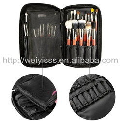 Professional Cosmetic Makeup organizer Artist case with Belt Strap Holder