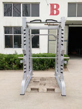 integrated gym trainer double function fitness machine power cage and smith machine