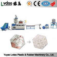 PP PE water cooling plastic recycling granulator machine,recycled plastic granulating machine