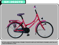 Competitive Price Most Popular Steel 20 Lady City Bike