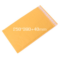 250*390+40mm Top Quality Kraft Bubble Envelopes Padded Mailers Self-Seal Bags Packing Post