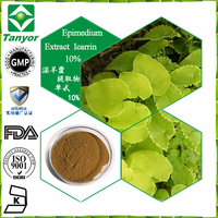 pure Nutral and high quality epimedium extract icariin powder