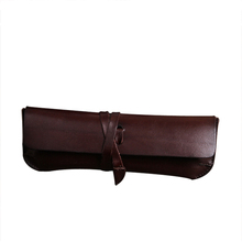 Top quality material wholesale leather pencil case
