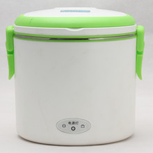 Stainless steel electric heating lunch box for car or for room use
