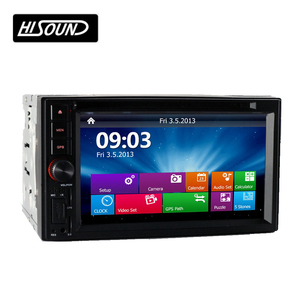 High quality 6.2inch touch screen chinese car radio 2 din with gps