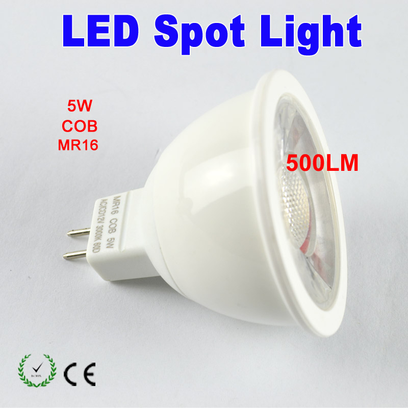 China factory high lumen CRI 80 5W GU10 COB Dimmable LED spotlight*200pcs