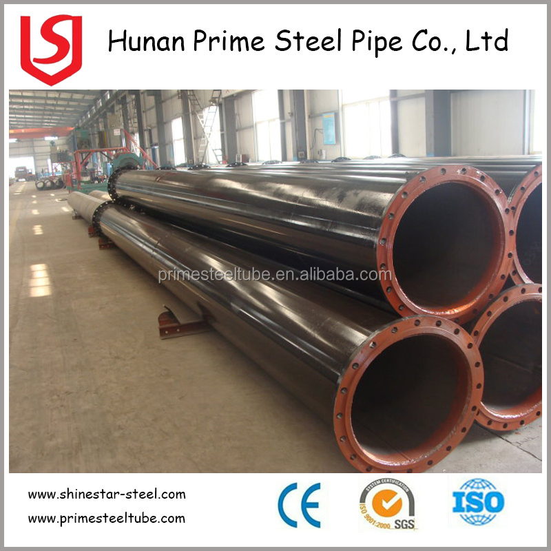 Cold formed ASTM A53 Grade B LSAW welded round steel pipe/tube for building material hot on sale