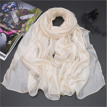 Hot Selling Custom Design Silk Scarf White For Painting and Dyeing