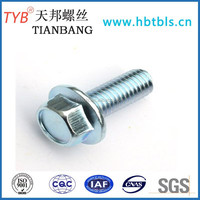 Carbon steel Hexagon flange bolt of High quality (Direct Manufacturer)