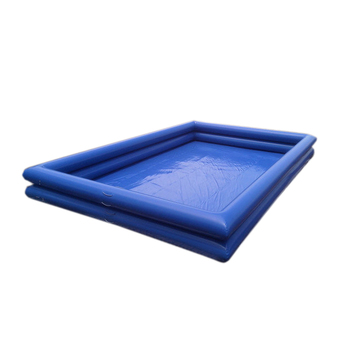 0.9mm PVC Tarpaulin Square Inflatable Swimming Pools Factory Cheap Price Bouncy Water Pool Inflatable