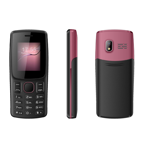 Hot Sale 1.8 inch Screen Feature Phone with Dual Sim Unique Design