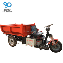 Licheng factory supplier China three wheeler/van three wheeleripper cargo tricycle for sale