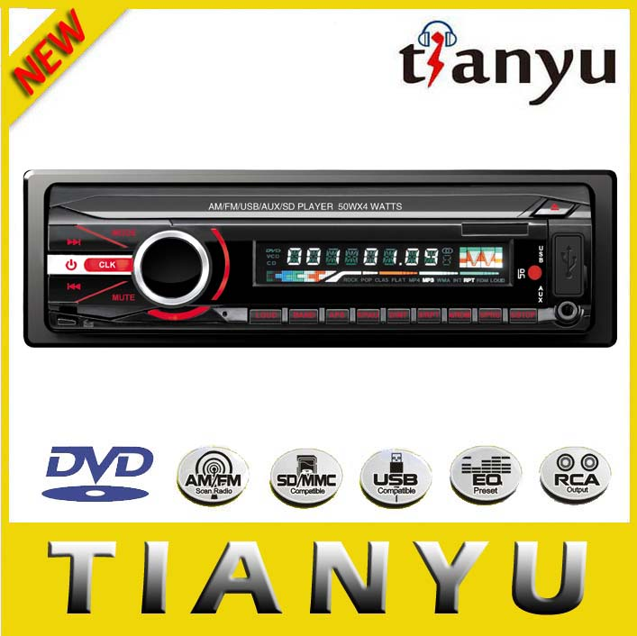 Rotary on-volume/tone/ balance control/SD/MMC Card/USB/Tape compatible/Car Radio Cassette <strong>Player</strong>