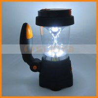 4 In 1 Rechargeable LED Spotlight Crank Camping Lantern