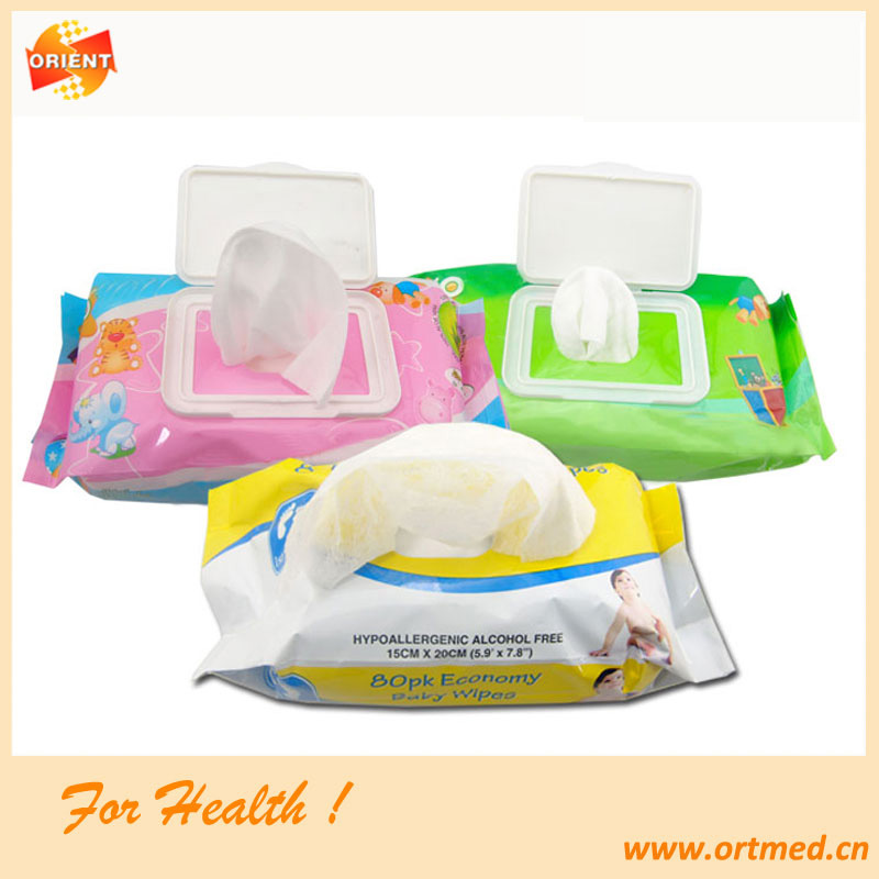 Flushable medical wipe,toilet roll wet wipes