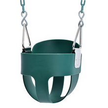 TLBABY EVA outdoor playground patio kids indoor baby plastic swing set