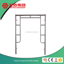 Safety 1.69''x0.09'' Powder Coated scaffold frame with joint pin