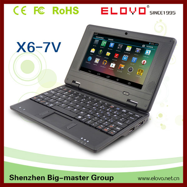 New products on china market 7 inch mini laptop in shenzhen cheap chinese laptops wm8850 laptop pc