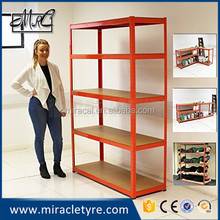 easy install warehouse shelf display rack/work bench export to UK