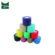 Professional standard non-woven cohesive wrap elastic self adhesive bandage