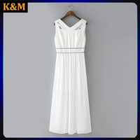 ladies cocktail party dress longer chiffon dress for women ladies cross over dress