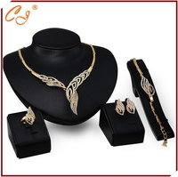 Fashion Dropshipping Multi Address Bulk Order Distributor Fashion Jewelry 18K Jewelry Set Gold for Wedding Distributor