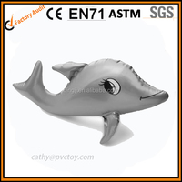 Gray inflatable dolphin toys