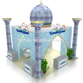 Arabia style portable exhibition stand used trade show booths