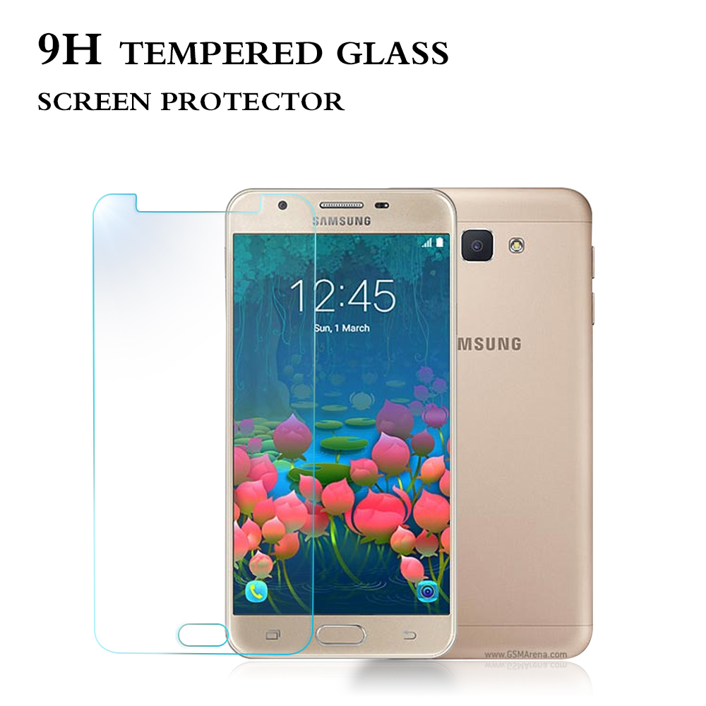 New premium anti shock waterproof tempered glass screen protector for Samsung galaxy J5 prime hot sale