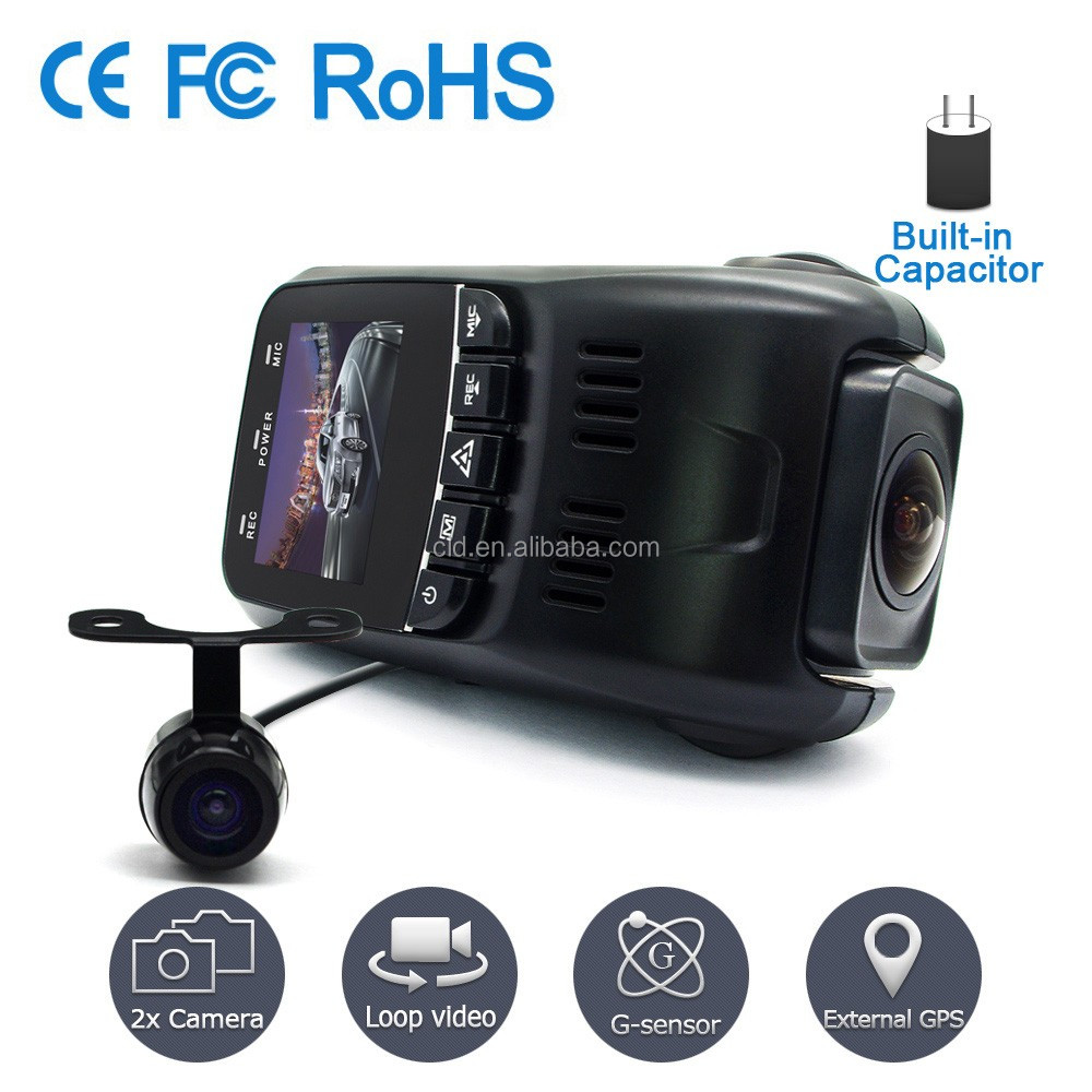 Support GPS Logger B40 A118 Full HD 1080P Mini Car Dvr Dual Camera